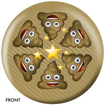 OTBB Emoji Poo Happens Bowling Ball