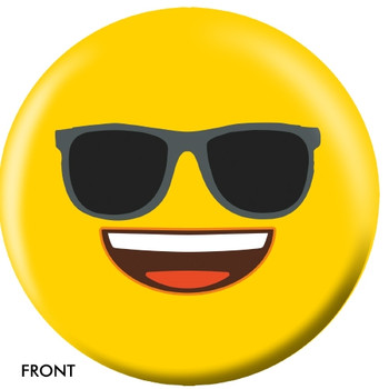 OTBB Emoji Yellow Faces Bowling Ball