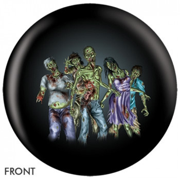 OTBB Zombie Horde Bowling Ball front