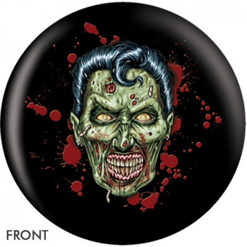 OTBB Elvis Zombie Bowling Ball front