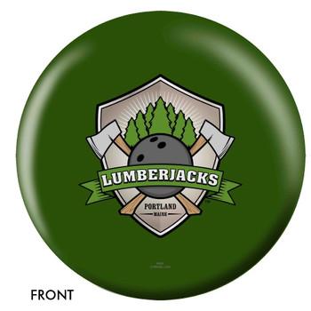 OTBB Portland Lumberjacks Bowling Ball