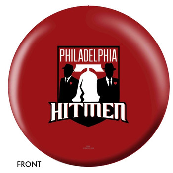 OTBB Philadelphia Hitmen Bowling Ball