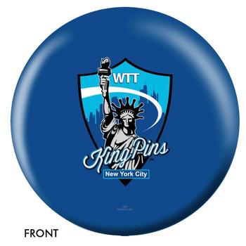 OTBB NYC WTT King Pins Bowling Ball front