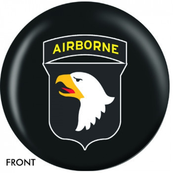 OTBB U.S. 101st Airborne Bowling Ball front