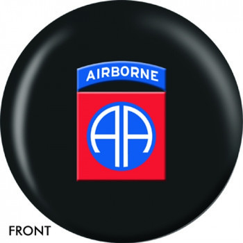 OTBB U.S. 82nd Airborne Bowling Ball front