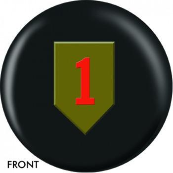 OTBB U.S. 1st Infantry Bowling Ball front