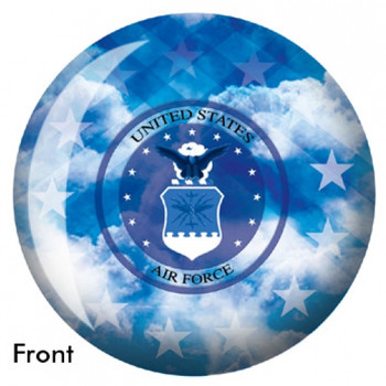OTBB U.S. Air Force Bowling Ball front