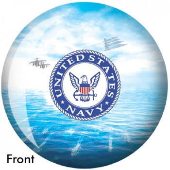OTBB U.S. Navy Bowling Ball front