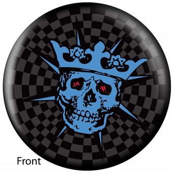 OTBB Skull King Bowling Ball front