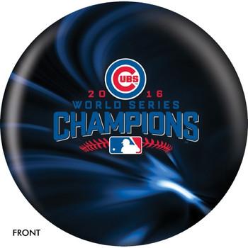 OTBB Chicago Cubs Bowling Ball 2016 World Series Bowling Ball