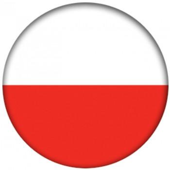 OTBB Polish Flag Bowling Ball