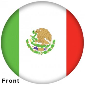 OTBB Mexican Flag Bowling Ball
