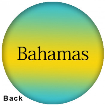 OTBB Bahamas Flag Bowling Ball