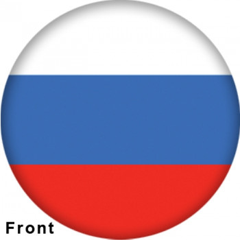 OTBB Russian Federation Flag Bowling Ball