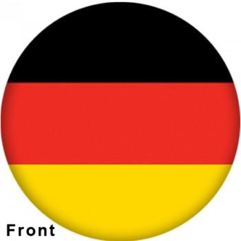 OTBB German Flag Bowling Ball front