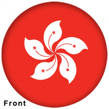 OTBB Hong Kong Flag Bowling Ball