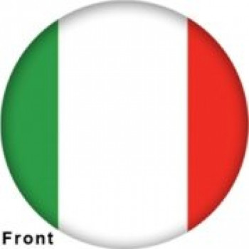 OTBB Italian Flag Bowling Ball front