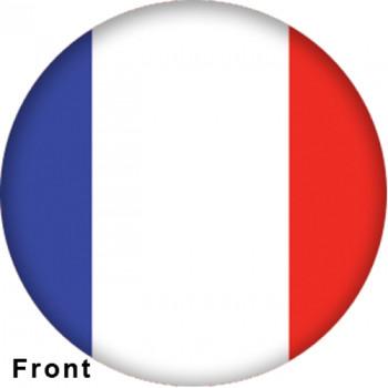 OTBB French Flag Bowling Ball