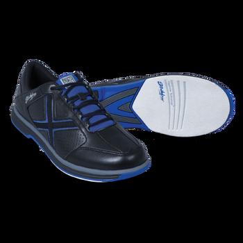 KR Strikeforce Men's Ranger Bowling Shoes Black/Blue setup