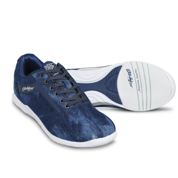 KR Strikeforce Womens Nova Lite Bowling Shoes Denim/Sparkle