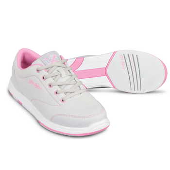KR Strikeforce Womens Chill Bowling Shoes Light Grey/Pink