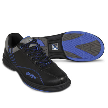 KR Strikeforce Mens Raptor Bowling Shoes Black/Royal setup