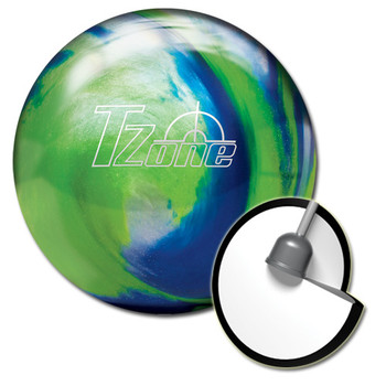 Brunswick Target Zone Ocean Reef Bowling Ball and core
