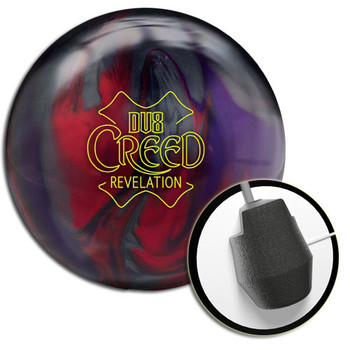 DV8 Creed Revelation Bowling Ball with core design