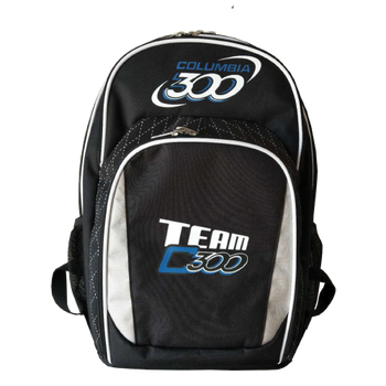Team Columbia Backpack - Black/Silver