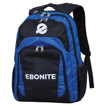 Ebonite Backpack - Black/Royal