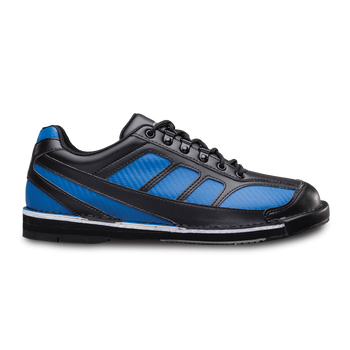 Brunswick Phantom Mens Bowling Shoes Black/Royal Carbon Fiber Left Handed