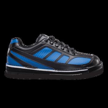 Brunswick Phantom Mens Bowling Shoes Black/Royal Carbon Fiber Right Handed