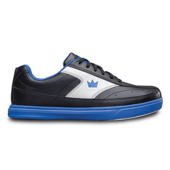 Brunswick Renegade Mens Bowling Shoes Black/Royal Wide