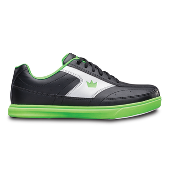Brunswick Renegade Mens Bowling Shoes Black/Neon