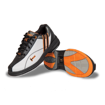 Hammer Vixen Womens Bowling Shoes White/Black/Orange Right Hand Wide