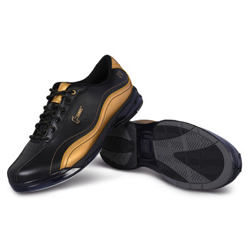 Hammer Force Mens Bowling Shoes Black Widow Gold Right Handed Wide