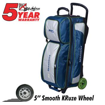 KR Strikeforce NFL Seattle Seahawks Triple Roller Bowling Bag