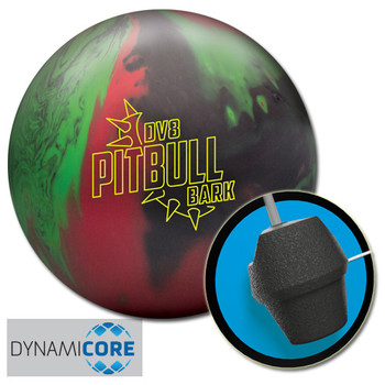 DV8 Pitbull Bark Bowling Ball and core