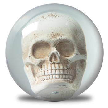 KR Strikeforce Clear Skull Ball