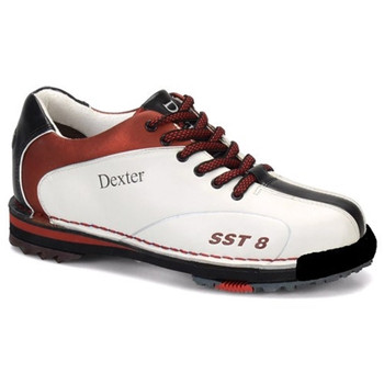 Dexter SST 8 LE Womens Bowling Shoes - White/Red/Black - WIDE