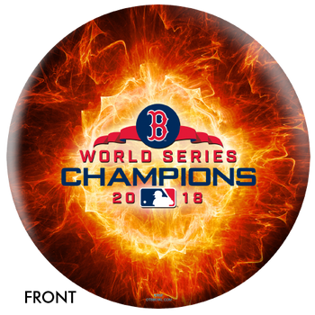 OTBB Boston Red Sox Bowling Ball 2018 World Series Bowling Ball front