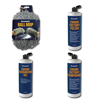 Brunswick Cleaner and Polish Quart Package