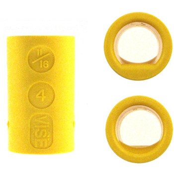 Vise Power Lift & Semi Bowling Inserts - Yellow