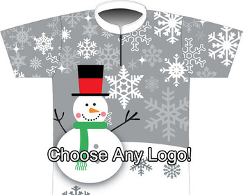 BBR Gray Snowman Sublimated Jersey