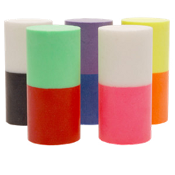 Turbo Duo Color Urethane Thumb Solid - 5 Pack