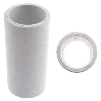Turbo 2-N-1 Xcel Round Vinyl Thumb Sleeve - White