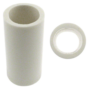 Turbo 2-N-1 Xcel Oval Vinyl Thumb Sleeve - White