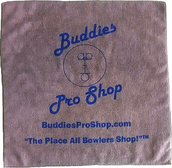 Buddies Pro Shop Microfiber Towel - Gray