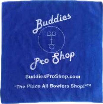 Buddies Pro Shop Microfiber Towel - Navy