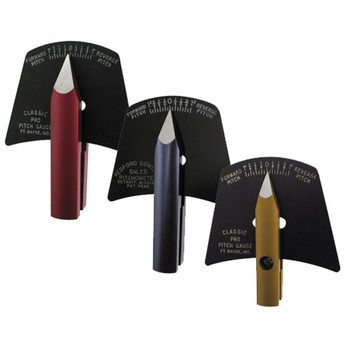 Classic Pitch Gauges for measuring the pitch of the finger and thumb holes in your bowling ball